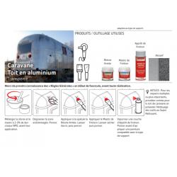 Toit de caravane en aluminium